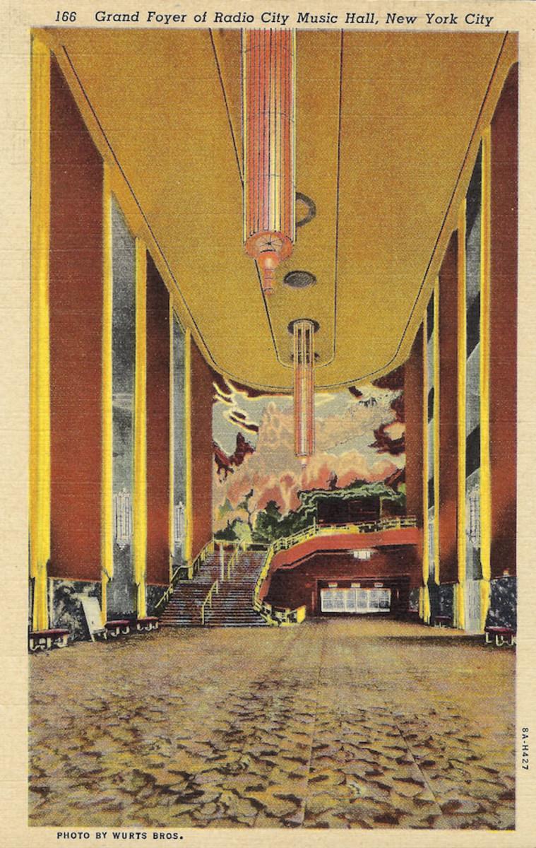 Grand Foyer Radio City Music Hall