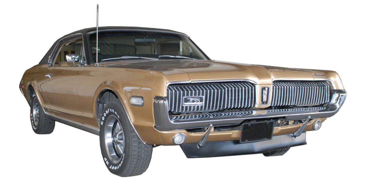 If you're going to cruise aimlessly through youth, you might as well ride in a 1968 Mercury Cougar XR7.