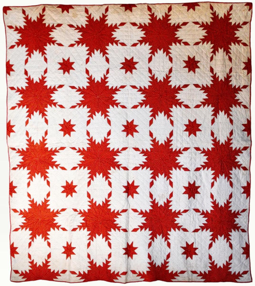 Eight-Point Star Quilt