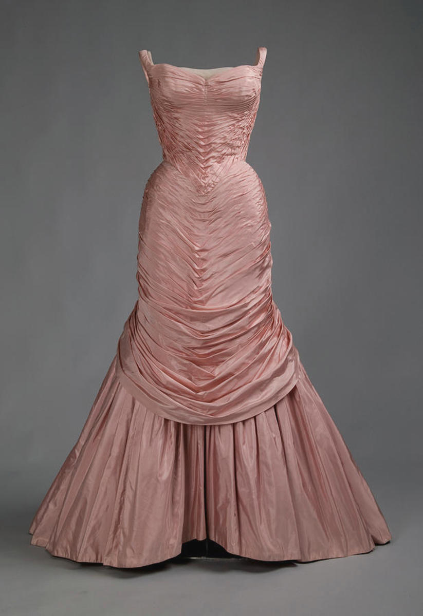 This pink version of the Tree gown was designed in 1957.
