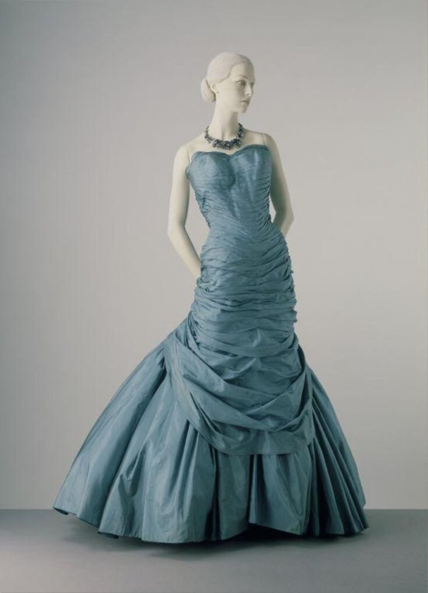 The gown Marietta Tree donated to the Victoria and Albert Museum.