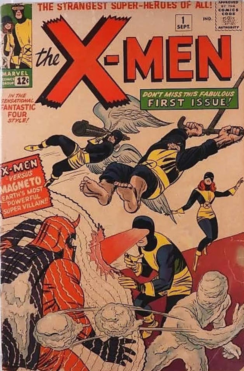 Graded only a 3.0, this 1963 issue of X-Men #1 still sold for $12,600.